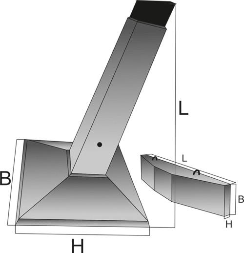 Фундамент для ЛЭП / ВЛ / Линий связи